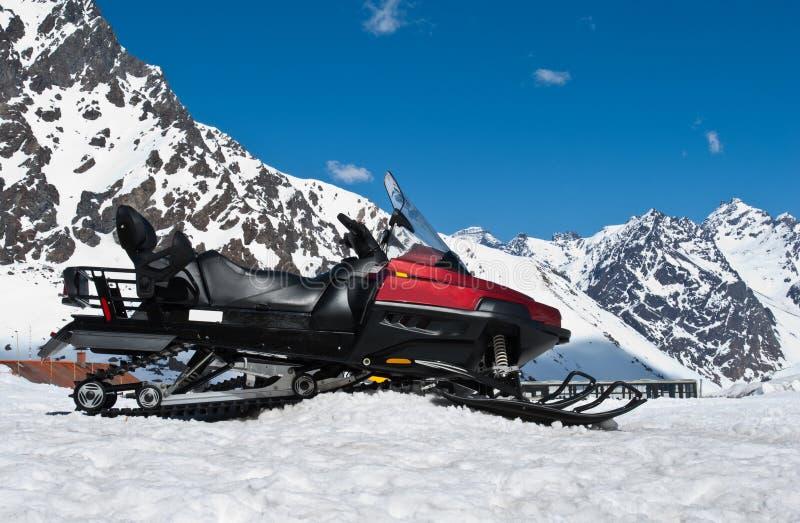 Ski-doo royalty free stock image