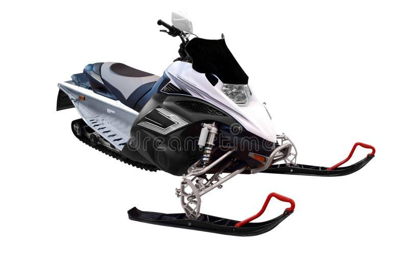 Ski-doo. Isolated on white background royalty free stock photos