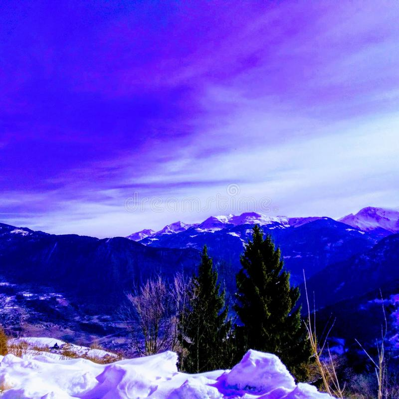 weekend in the mountains royalty free stock photo