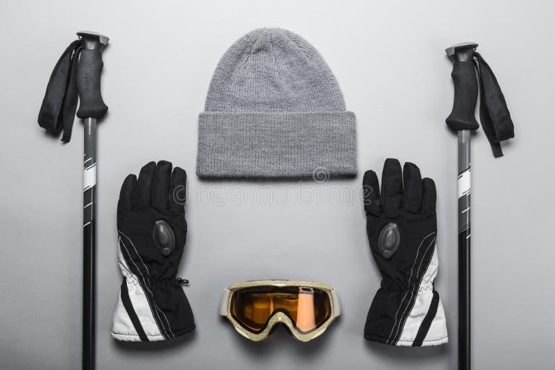 Ski et article de sport de neige photographie stock
