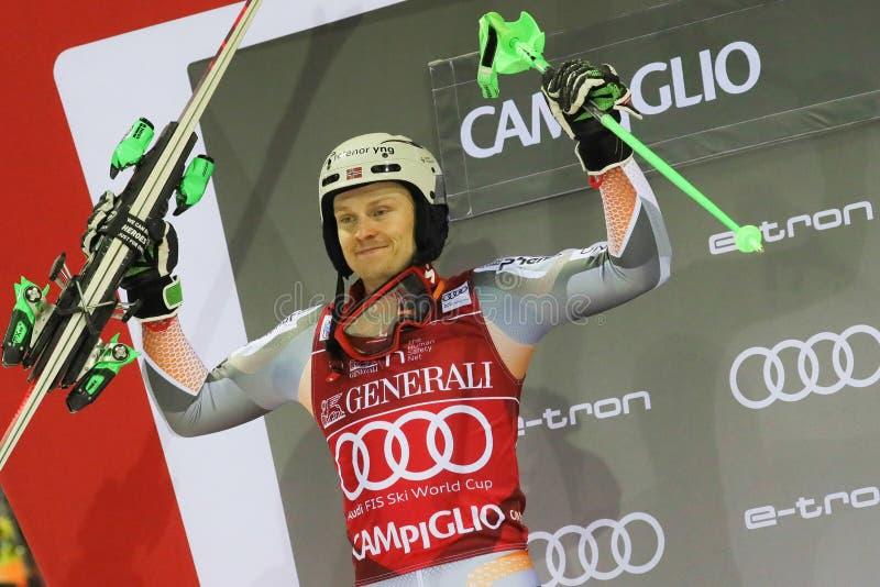 Ski FIS AUDI World Cup - Slalom Men royalty free stock photos