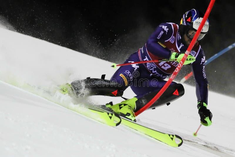 Ski FIS AUDI World Cup - Slalom Men stock images