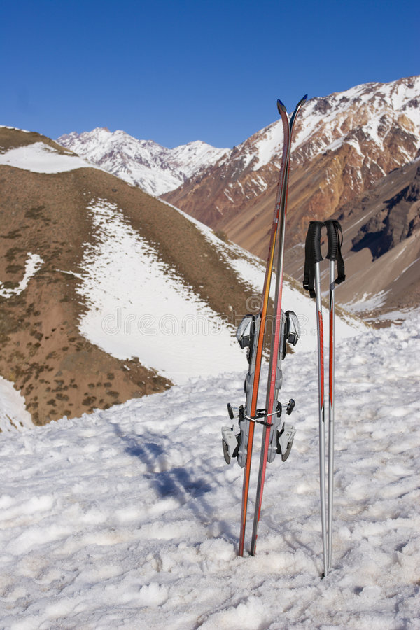 Download Ski Gear (vertical) Stock Photography - Image: 3385342