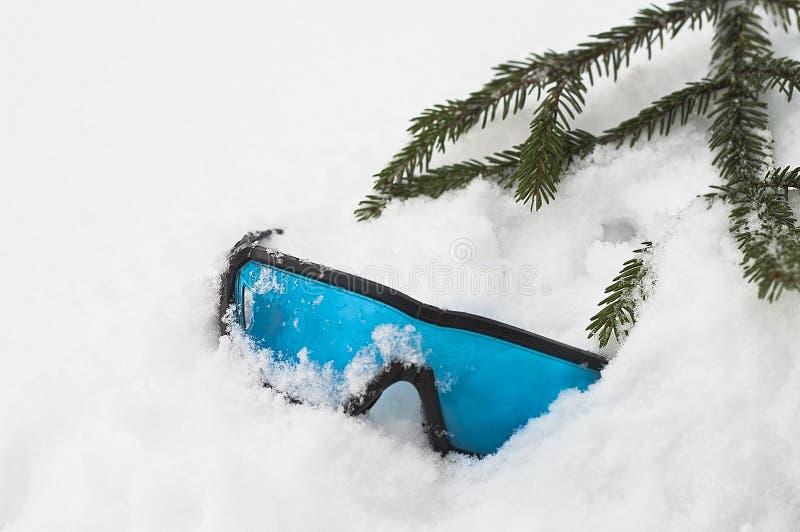 Ski Glasses abandonado imagens de stock royalty free