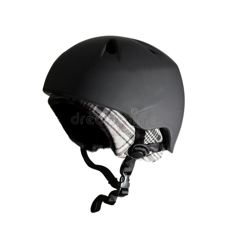 Download Ski helmet stock image. Image of liner, black, safe, warm - 12338027