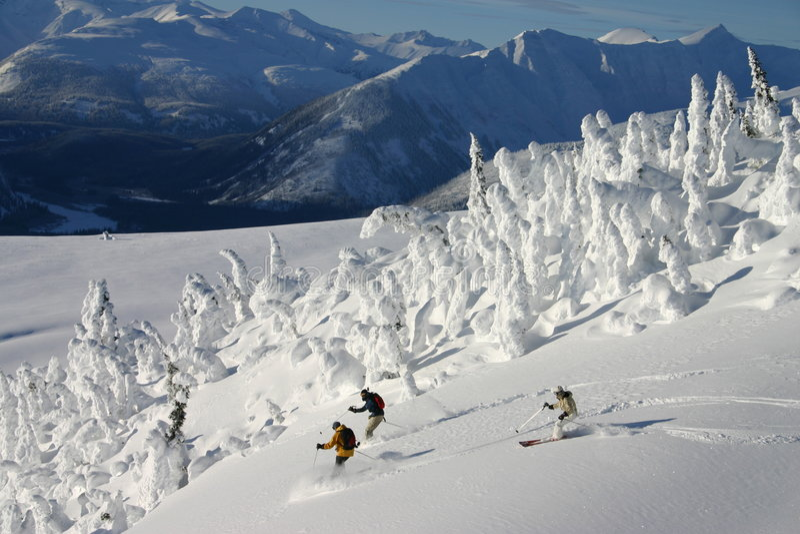 Ski High Stock Photos