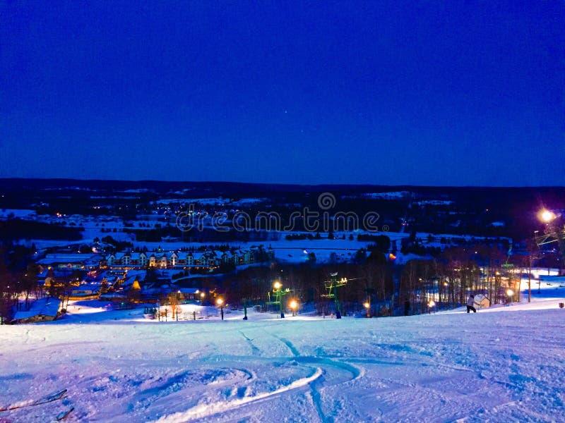Ski Hill fotos de stock