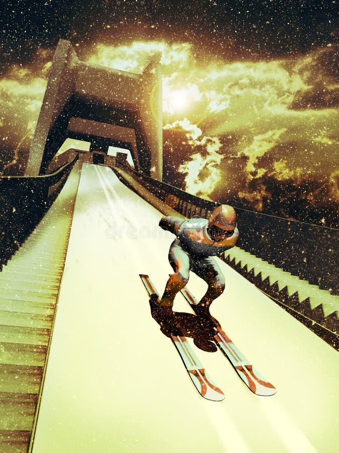 Free Ski Jump Stock Photography - 33789522
