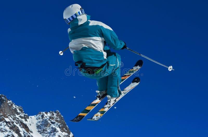 Ski Jump imagem de stock