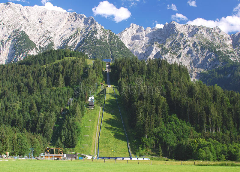 Download Ski Jump Bad-Mitterndorf,Austria Stock Photo - Image: 23155598