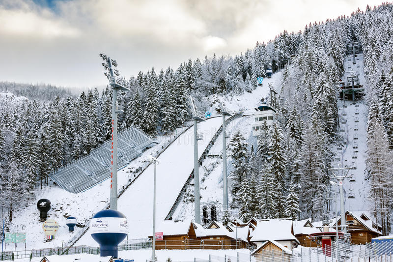 Download Ski Jump In Zakopane, Poland Editorial Stock Image - Image: 28620224