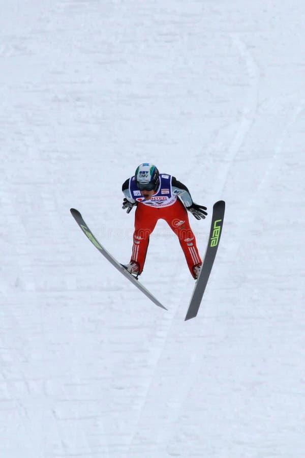 Download Ski Jumper Mitja MEZNAR Flies Editorial Photography - Image: 14674767