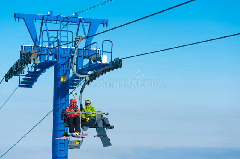 Ski Lift Royalty Free Stock Photography