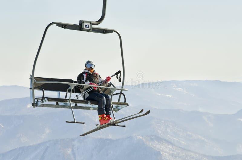 Download Ski lift stock image. Image of cold, sports, light, glasses - 23916247