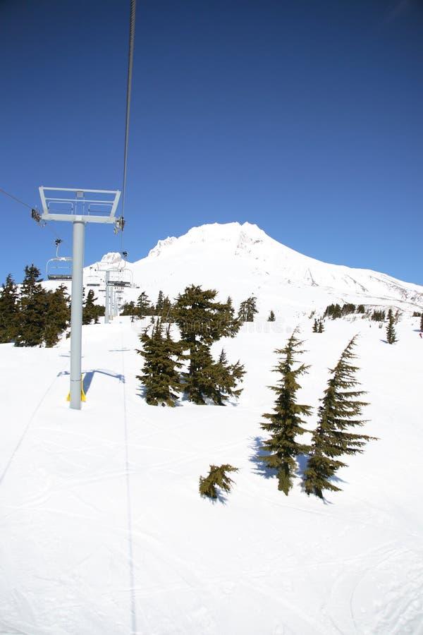 Ski-lift immagini stock libere da diritti