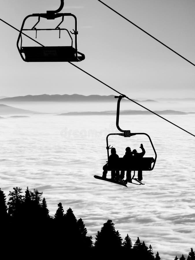 Free Ski Lift Stock Images - 53551524