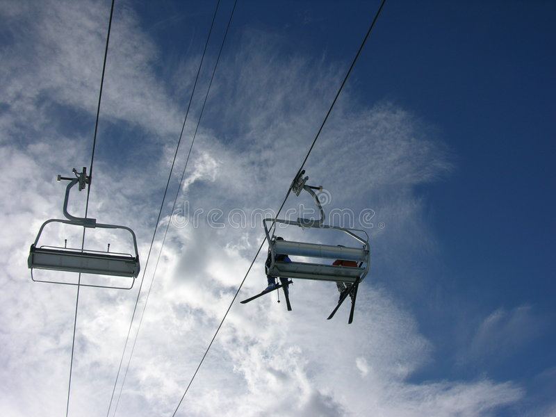 Download Ski Lift Stock Photo - Image: 591980