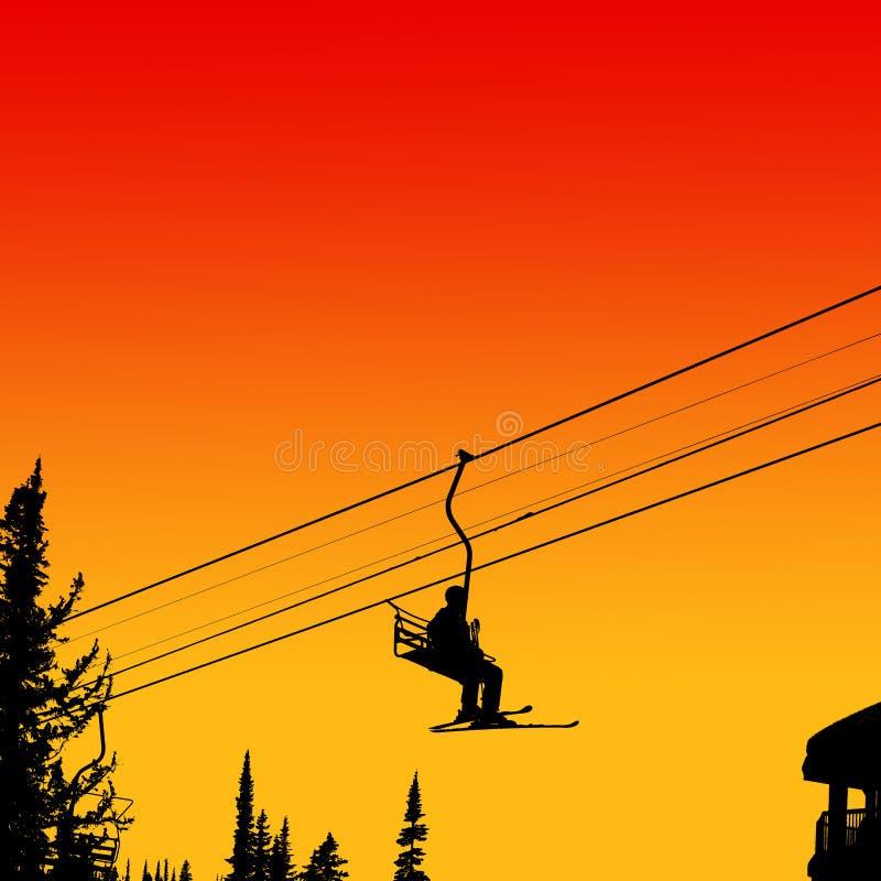 Free Ski Lift Royalty Free Stock Photos - 8182058