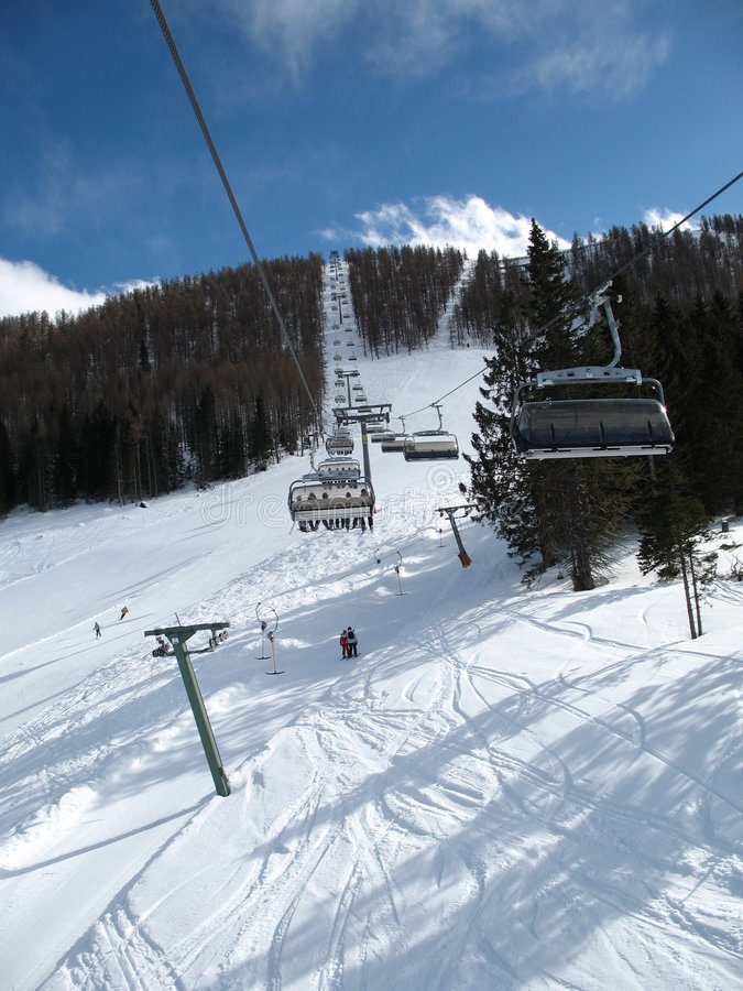 Free Ski Lift Stock Images - 8449434