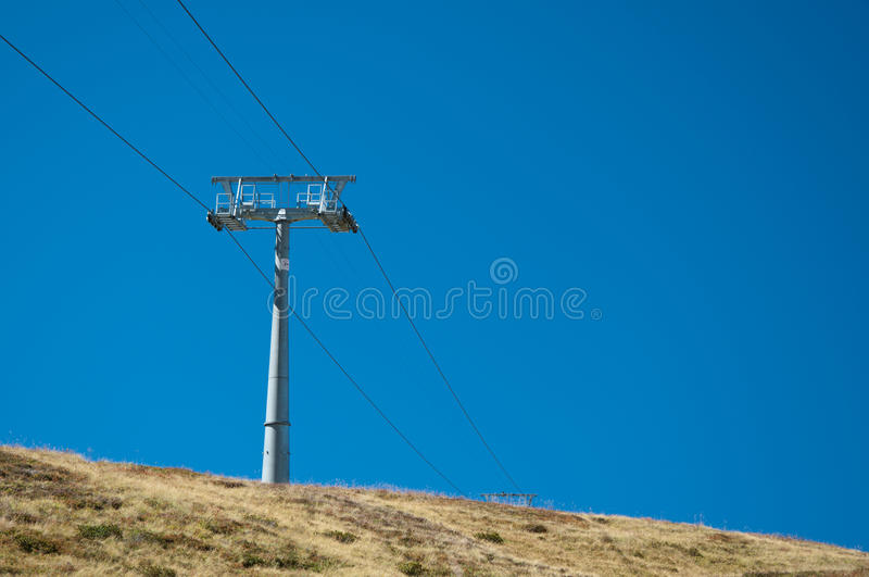 Ski Lift At Grindelwald/First Royalty Free Stock Photography