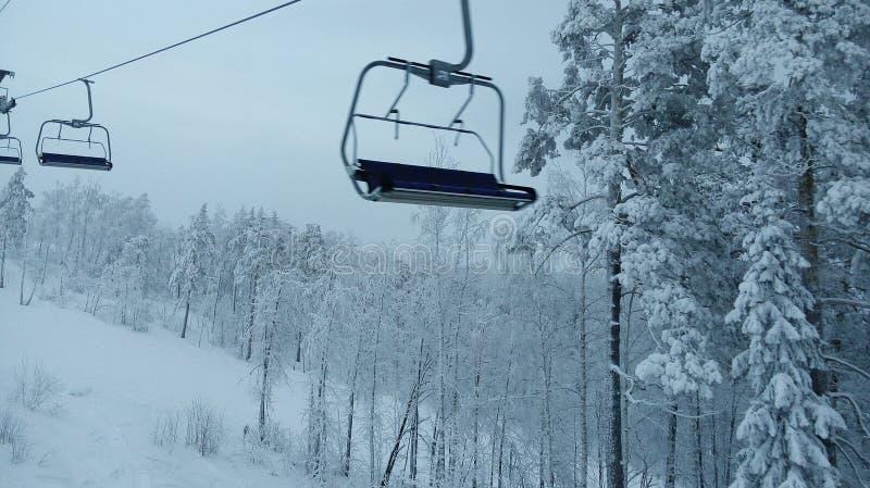 Ski-lift stock photos