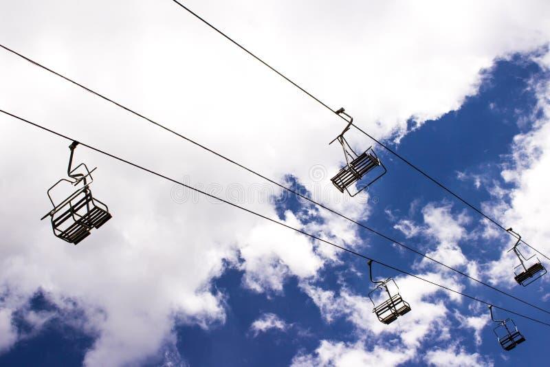 Ski Lifts arkivfoton