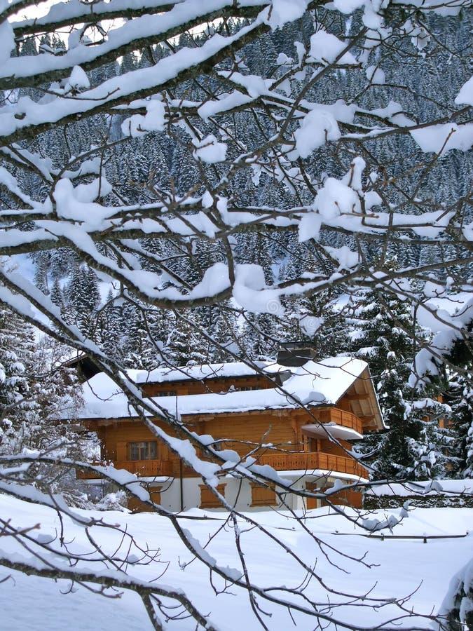 Free Ski Lodge, Swiss Holiday Cottage Stock Photos - 17387103
