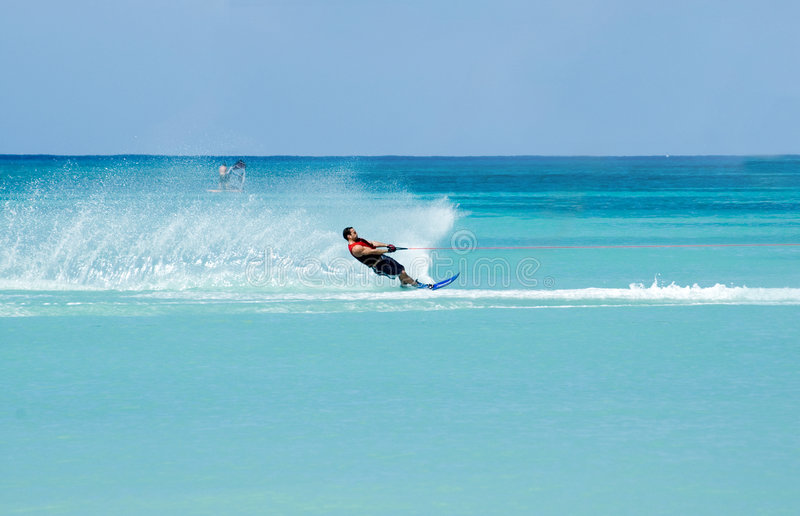 Ski nautique 3 photos stock