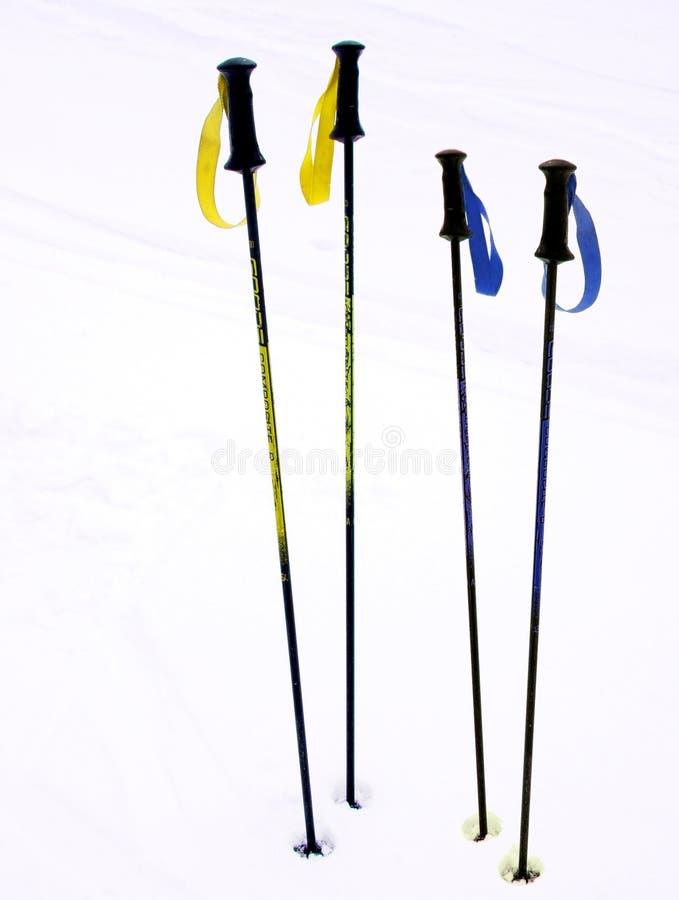 Ski Poles Stock Images