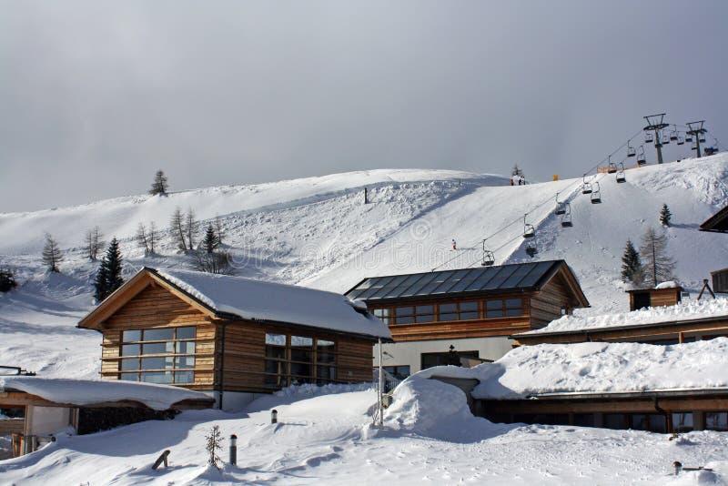 ski resort stock photo