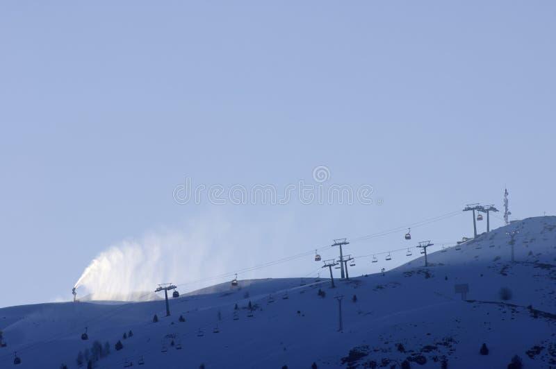 Download Ski resort stock image. Image of horizontal, hill, boarding - 15027717