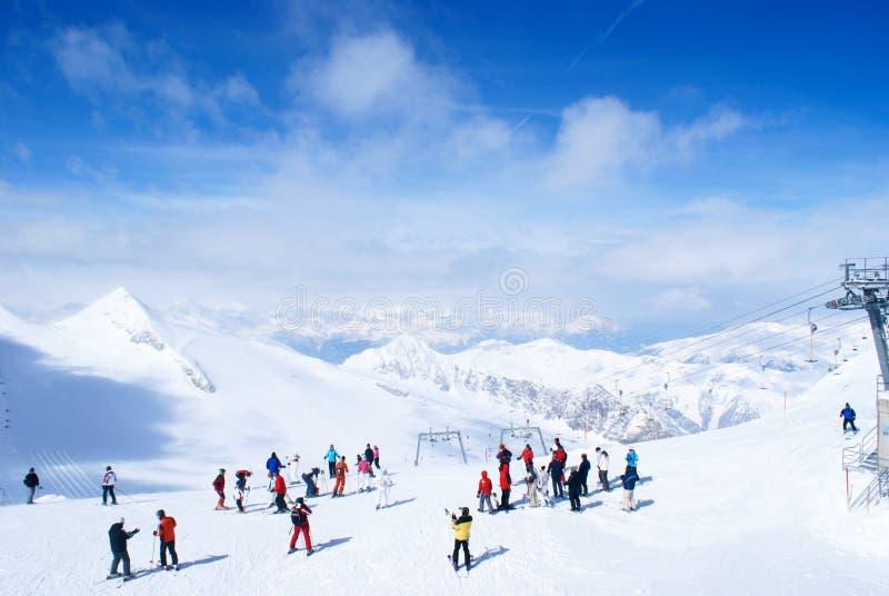 Ski Resort Editorial Stock Photo