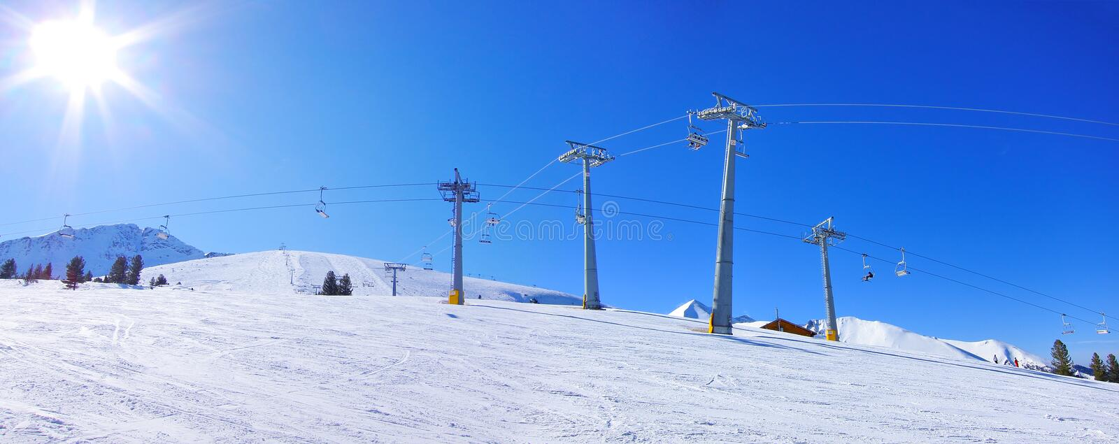 Download Ski Resort stock photo. Image of aerial, adventure, chairlift - 23922394
