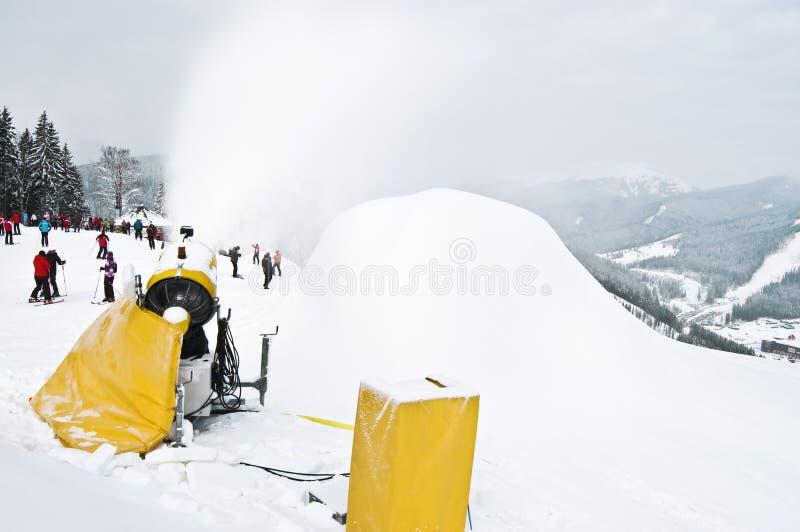 Download Ski resort stock image. Image of maker, snow, activity - 25161161