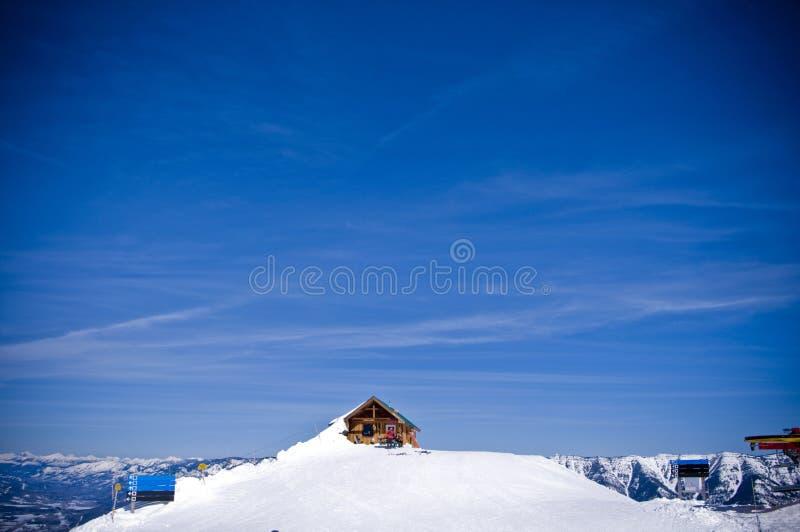 Ski resort fernie winter stock images