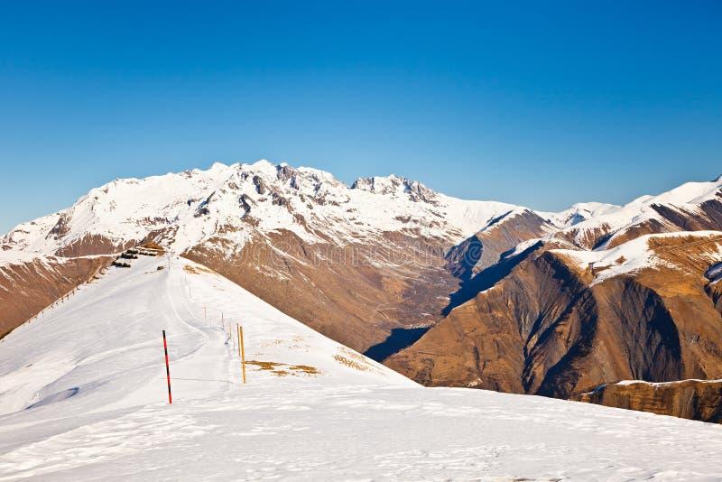 Download Ski resort in French Alps stock photo. Image of france - 35858472