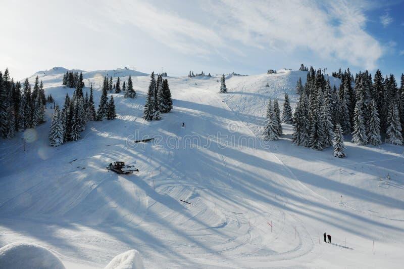 Ski Resort Jahorina lizenzfreies stockbild