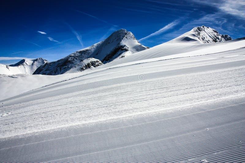 Ski Resort Kaprun Royalty Free Stock Image