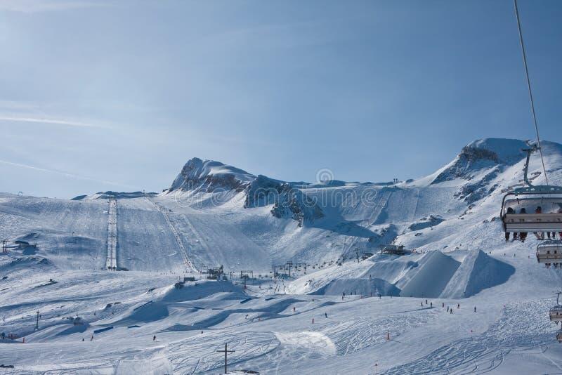 Download Ski Resort Of Kaprun,  Austria Stock Image - Image: 26210819