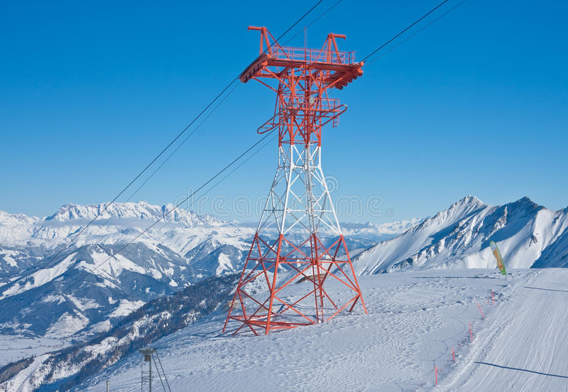 Ski Resort Of Kaprun, Austria Stock Photo