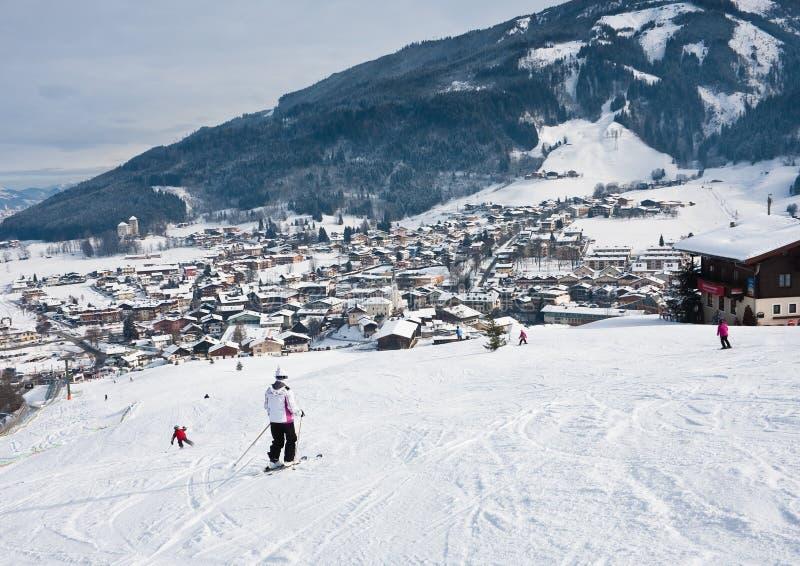 Download Ski Resort Kaprun - Maiskogel Stock Image - Image of snow, lake: 26601569