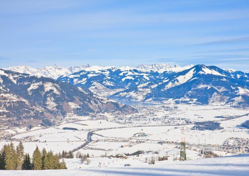 Download Ski Resort Kaprun - Maiskogel. Austria Stock Image - Image: 34129689