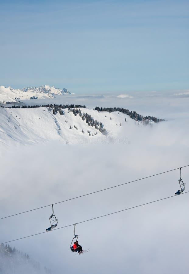 Download Ski resort Zell am See stock photo. Image of people, resort - 26653654