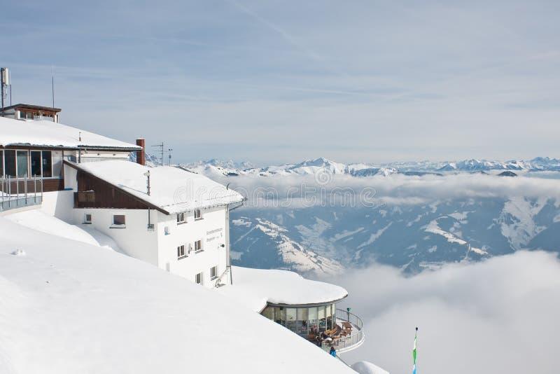 Ski Resort Zell Am See Editorial Stock Image