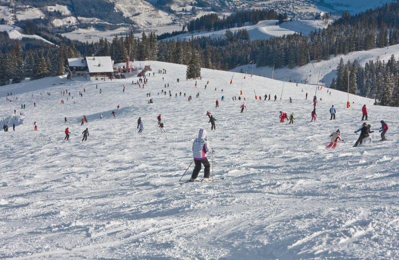 Download Ski resort Zell am See editorial photography. Image of landscape - 26902777
