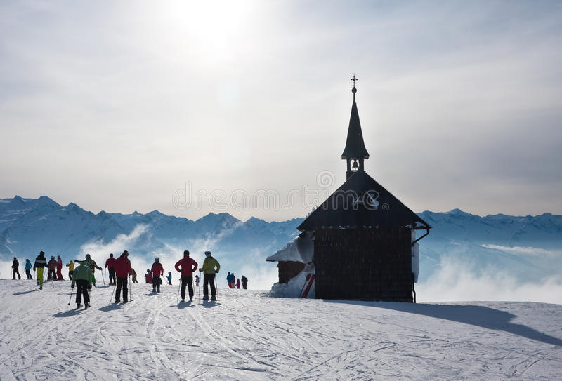 Download Ski Resort Zell Am See. Austria Royalty Free Stock Images - Image: 26084379