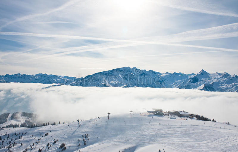 Download Ski Resort Zell Am See. Austria Stock Photo - Image: 26709884