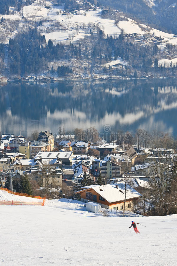 Download Ski Resort Zell Am See. Austria Editorial Photography - Image: 33793902