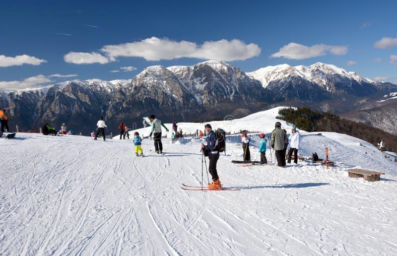 Ski Ressort fotografia de stock royalty free