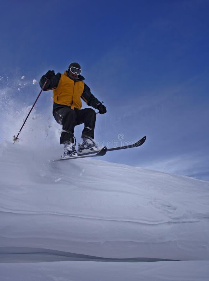 Ski-rider royalty free stock images